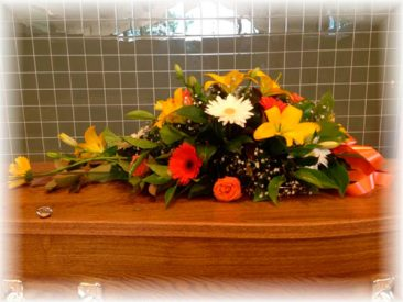Colourful Seasonal Floral Arrangement