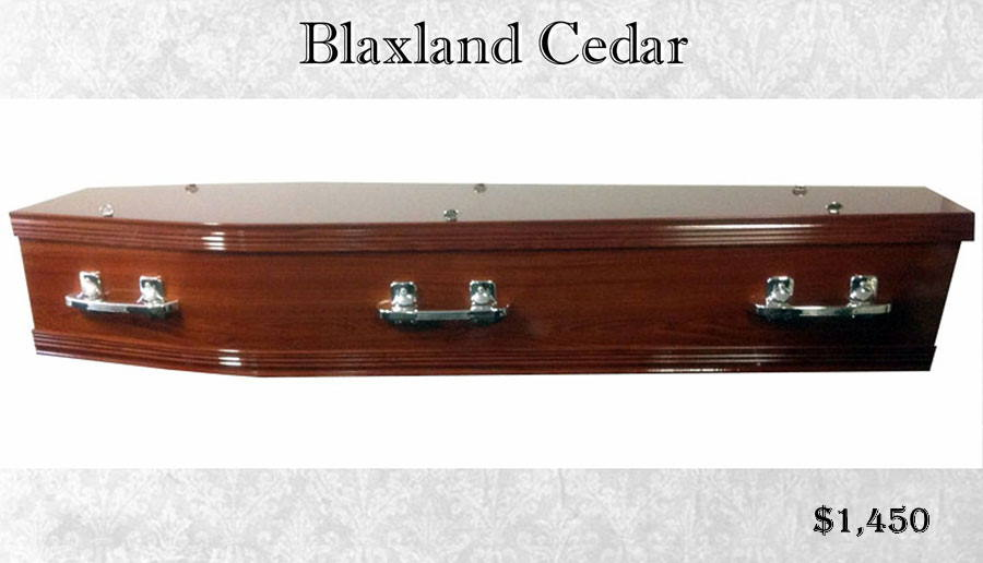 Blaxland Cedar Coffin