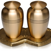 Brass Companion Urn, Also Available in Pewter $850