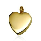 Classic Gold Heart Pendant $95