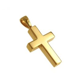 Lifecycle Pendant Gold Cross $160