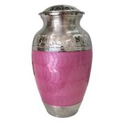 Pink and Silver Urn, Adult $350