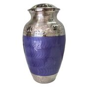 Purple and Silver Urn, Adult $350