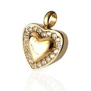 Sweet Heart Gold Pendant $95