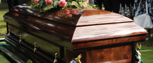 caskets used by Lincoln Family Funerals