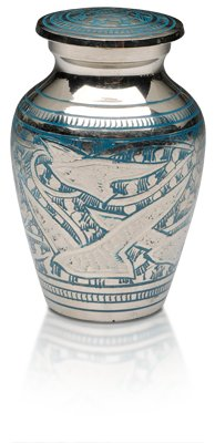 Birds Returning Home Keepsake Urn $120